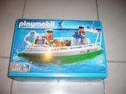 Playmobil 4471 Zollboot Wasserpolizei Polizeiboot