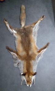 Echtes Fuchsfell Fellüberwurf