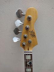 HK Elektro Bass Gitarre Thomann - Stimmgerät -