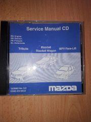 Werkstatthandbuch auf CD Mazda 6