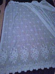 Weiße Gardine 4 2 95