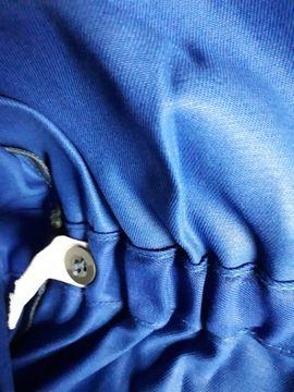 Bild 4 - Arbeitsoverall Größe 60 royalblau - robuste - Schwabach