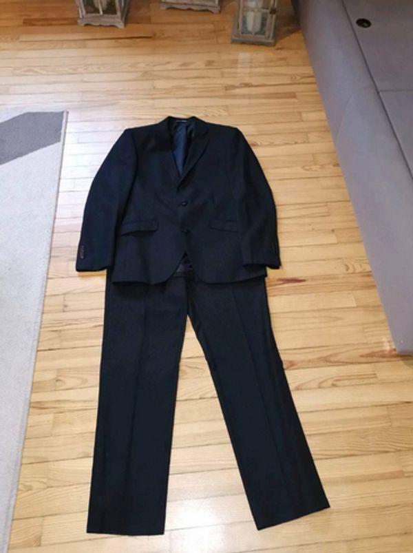 separation shoes 86ed2 1a18f Anzug Herren schwarz in Blieskastel - Herrenbekleidung ...