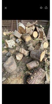 Brennholz Holzstamm holzbalken
