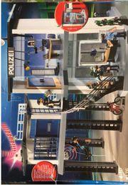 Playmobil Polizei-Kommandostation mit Alarmanlage und
