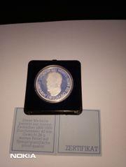 Liebhaberstück Bayer-Jubiläumsmünze 1977