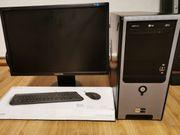 PC-Set mit Monitor neue Maus