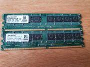 2 Speicherriegel 512MB-PC24300-444