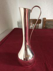 Vase Messing verchromt NEU