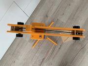 Hape E3011 - Großer Holz-Baukran inkl