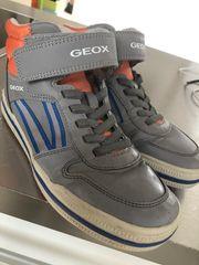 Coole Mid-Cut-Sneaker von GEOX grau