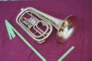 B- Basstrompete A Müller Markneukirchen
