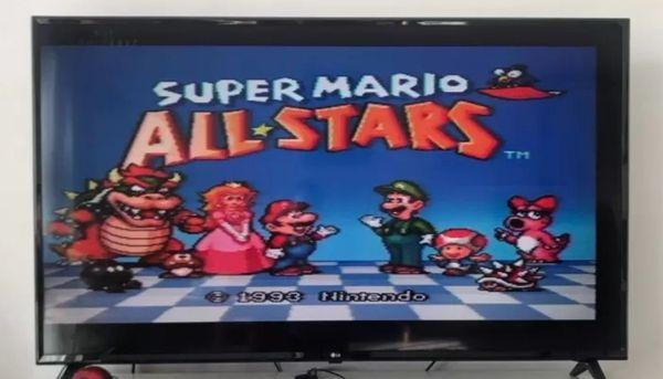 Super Mario All Stars Super