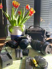 Spiegelreflexkamera Sony Alpha 58 inkl