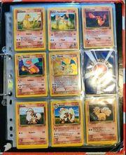 Pokemon Sammelkarten - Mappe ist ca