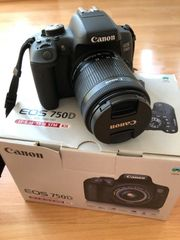 Canon EOS 750D 18-55mm IS