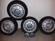 Audifelgen mit Reifen