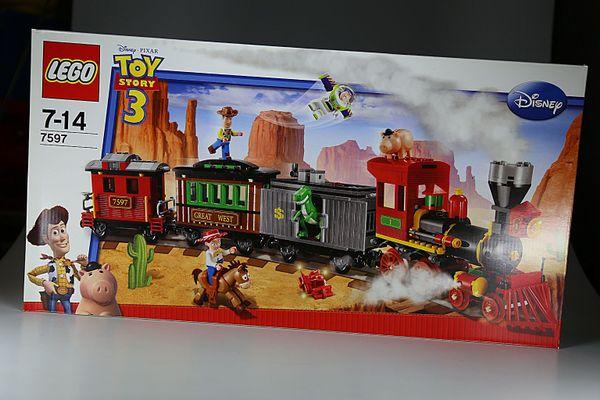 LEGO Toy Story Eisenbahnjagd im