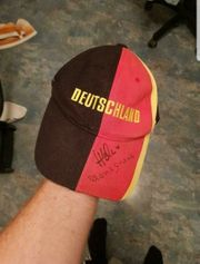 Deutschland Kappe mit Unterschriften T
