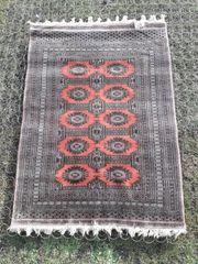 schöne Teppich handgeknüpft Seide 174cmx129cm