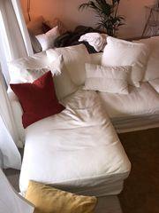 Grönlid 3er-Sofa mit Recamiere und