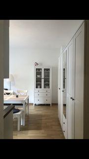 Ikea Hemnes Vitrine weiß