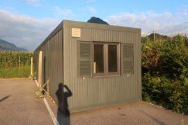 Bild 4 - 14x3m mobile Werkstatt Wohncontainer Bürocontainer - Bludenz
