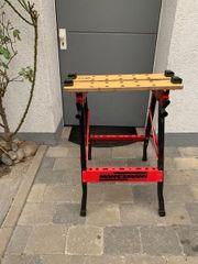 Gebrauchter Werktisch klappbar von Mannesmann