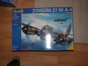 Plastik-Fluzeugmodell in Originalverpackung Ju 88
