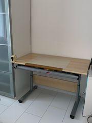 Paidi Schreibtisch Massivholz