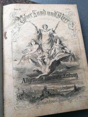 Alte lIlustrierte Zeitung Über Land