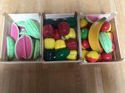 Holz Kinderspielzeug Obst und Gemüse