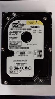 IDE ATA WD 80GB 3