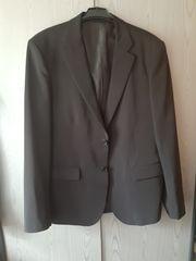 Herren Anzug Schwarz Polyester GR