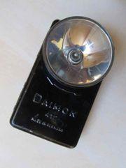 Taschenlampe Alte schwarze Taschenlampe Daimon