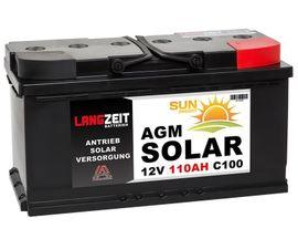 Sonstiges - Langzeit AGM Solar Batterie 110Ah