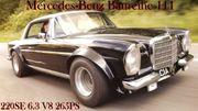 Mercedes 108 109 110 Heckflosse