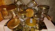 Honig Gläser Honiggläser Bienen