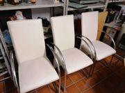 Stuhl 3 Lederstühle
