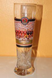 Paulaner Weizenbierglas FC Bayern München