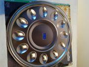Eierplatte edelstahl Eierteller Eierservierplatte Servierplatte