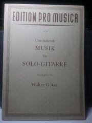 Musik für Solo Gitarre W