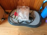 Vibrationsplatte Faszienrolle Hantel homtrainer Pilates