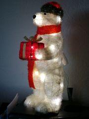 LED Eisbär Weihnachts Beleuchtung 61