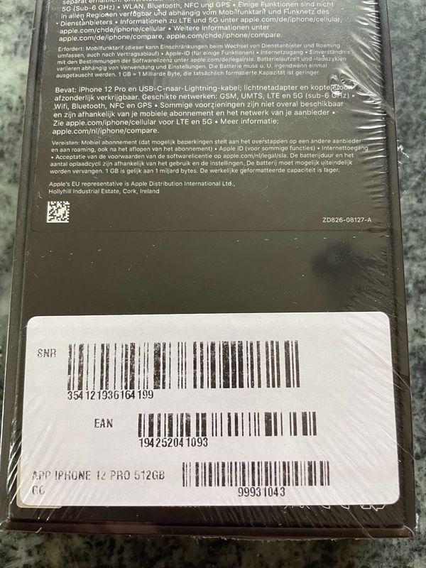 *NEU* Apple iPhone 12 PRO Gold 512 GB *ORIGINALVERPACKT*