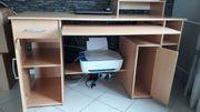 Schreibtisch buche gut erhalten