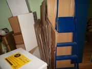 10 stabile verschieden grosse kartons