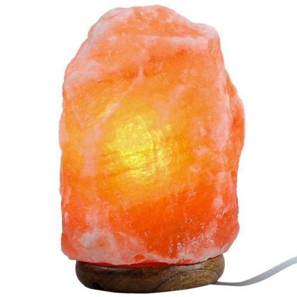 Himalaya-Salzkristalllampe - Entspannend für Yogastunden