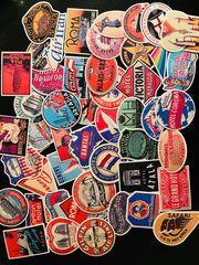 RIMOWA Koffer Vintage Hotel Sticker