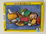 Kleinkinder Puzzle Janosch 16 Teile